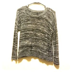 Absolutely sz small long sleeve knit top